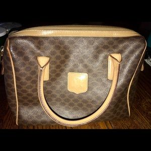Celine Macadam Boston Bag Excellent Condition.